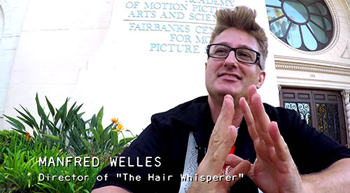 THE HAIR WHISPERER - Manfred Interview / Part 2 - Promo No. 19