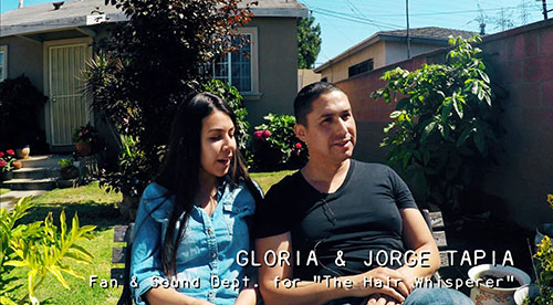 THE HAIR WHISPERER - Jorge and Gloria Interview / Part 1 - Promo No. 28