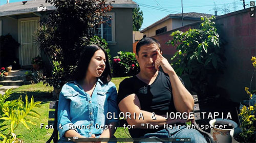 THE HAIR WHISPERER - Jorge and Gloria Interview / Part 2 - Promo No. 30