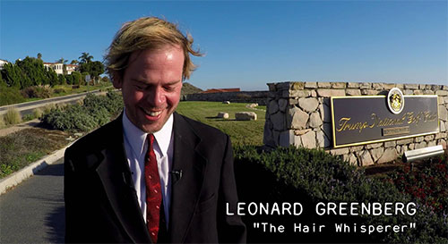 THE HAIR WHISPERER - Leonard Dishes on the Cruzies - Promo No. 9