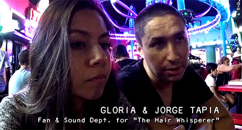 THE HAIR WHISPERER - Jorge and Gloria at the Pier - Promo No. 40